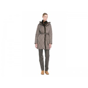 Женское пальто (синтепон), мех норка, арт. 1112, Steinberg, Австрия