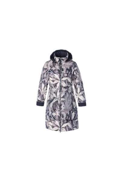 ДВУСТРОННЕЕ женское облегченное пальто, пух, Steinberg, Австрия, арт.01/1118