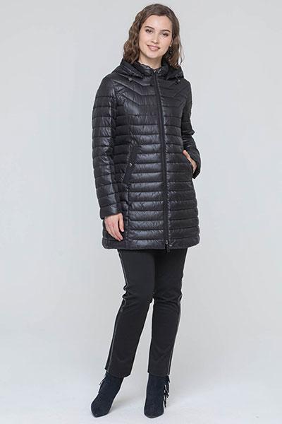 Куртка стеганная с капюшоном, на молнии, арт. 04320, Steinberg