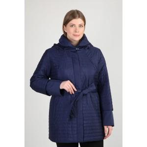 Стеганая куртка с поясом и капюшоном, арт. 3286, Steinberg
