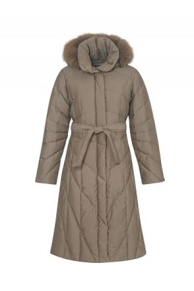 Пальто женское (цвет черный), пух арт. 5686, Steinberg, Австрия